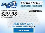 My Pillow Premium Flash Sale!